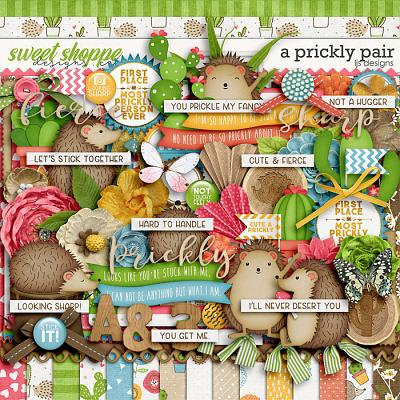 A Prickly Pair by LJS Designs