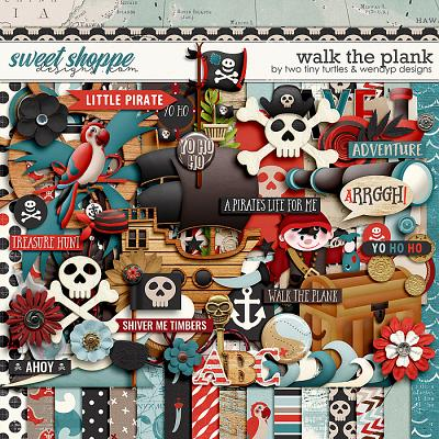 Walk The Plank: Kit by Two Tiny Turtles & WendyP Designs