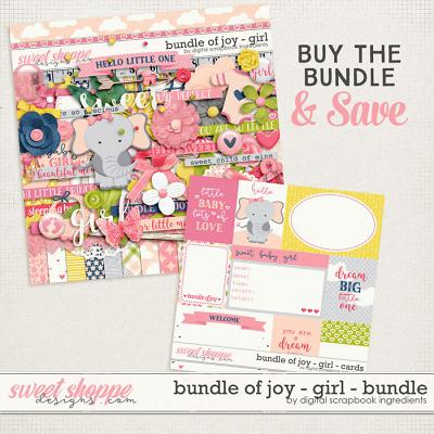 Bundle Of Joy - Girl Bundle by Digital Scrapbook Ingredients