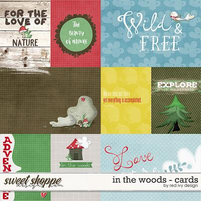 In The Woods - Cards by Red Ivy Design