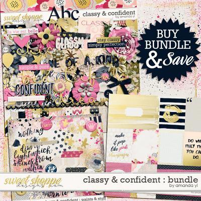 Classy & Confident : Bundle by Amanda Yi