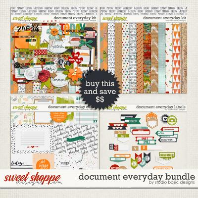 Document Everyday Bundle by Studio Basic