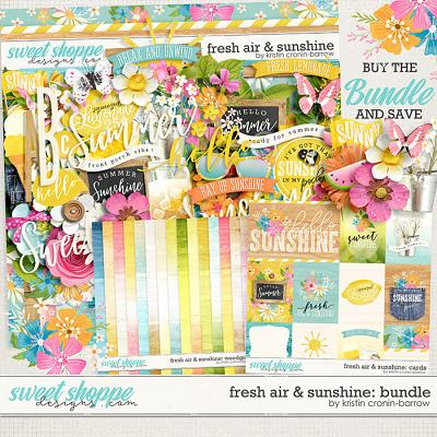 Fresh Air and Sunshine: Bundle by Kristin Cronin-Barrow