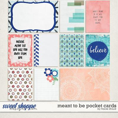 Meant to Be Pocket Cards by Tracie Stroud