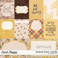 Honey Bee: Cards by Amber Shaw