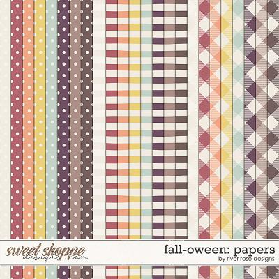 Fall-oween: Papers by River Rose Designs
