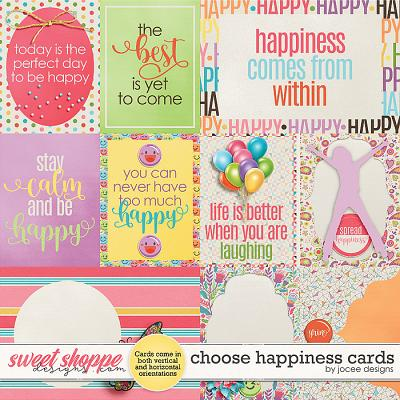 Choose Happiness Cards by JoCee Designs