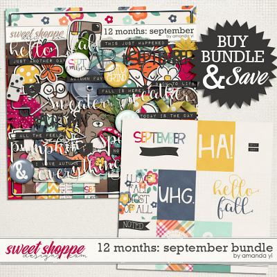 12 Months: September Bundle by Amanda Yi
