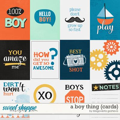 A boy thing {cards} by Blagovesta Gosheva
