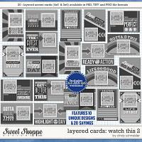 Cindy's Layered Cards: Watch This 2 by Cindy Schneider