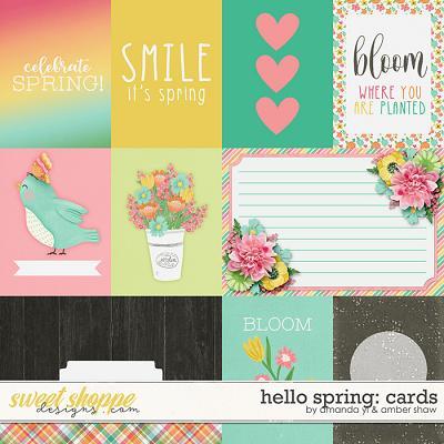 Hello Spring: Cards by Amanda Yi & Amber Shaw