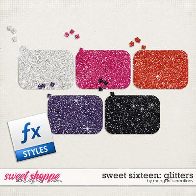 Sweet Sixteen: Glitters by Meagan's Creations