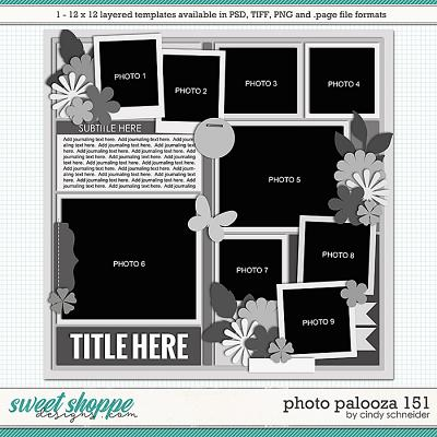 Cindy's Layered Templates - Photo Palooza 151 by Cindy Schneider