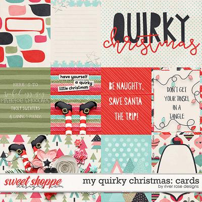 My Quirky Christmas: Cards by River Rose Designs