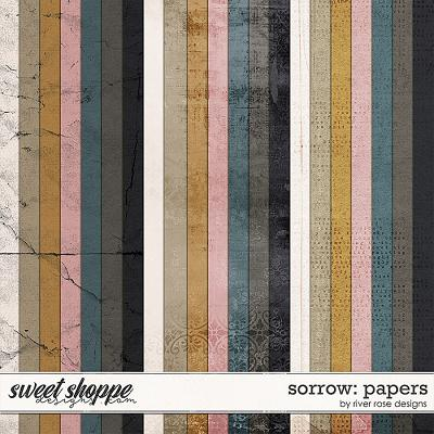 Sorrow: Papers by River Rose Designs