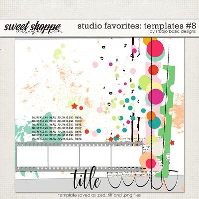 Studio Favorites: Templates #8 by Studio Basic