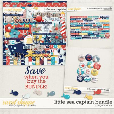 Little Sea Captain: Bundle by Sugary Fancy & Two Tiny Turtles