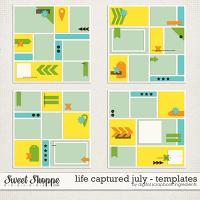 Life Captured July | Templates by Digital Scrapbook Ingredients