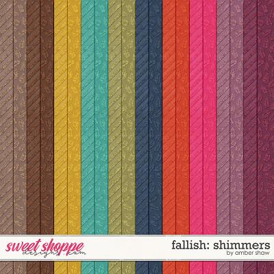 Fallish: Shimmers by Amber Shaw