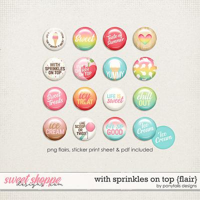 With Sprinkles on Top Flair by Ponytails