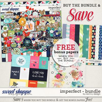Imperfect - Bundle by Red Ivy Design