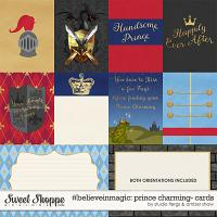 #believeinmagic: Prince Charming Cards by Amber Shaw & Studio Flergs