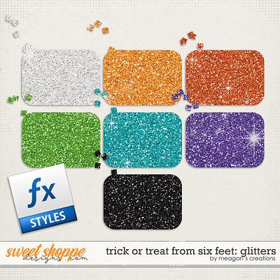 Trick or Treat From Six Feet: Glitters by Meagan's Creations