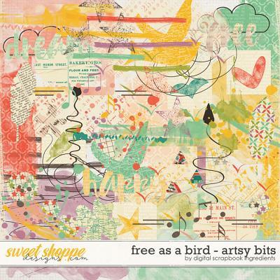 Free As A Bird | Artsy Bits by Digital Scrapbook Ingredients