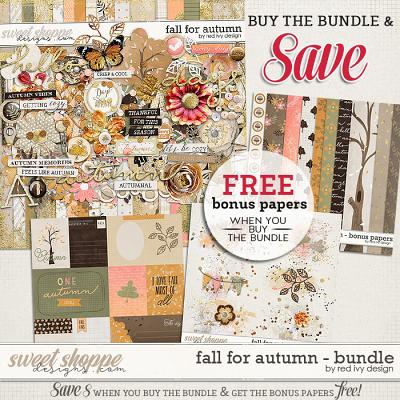 Fall for Autumn - Bundle by Red Ivy Design