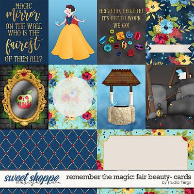 Remember the Magic: FAIR BEAUTY- CARDS by Studio Flergs