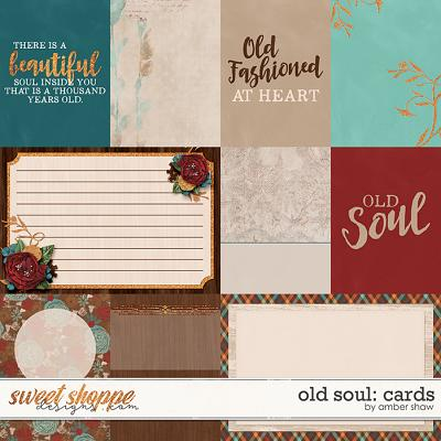 Old Soul: Cards by Amber Shaw