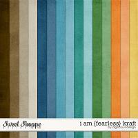 I Am {Fearless} Kraft by Digilicious Design