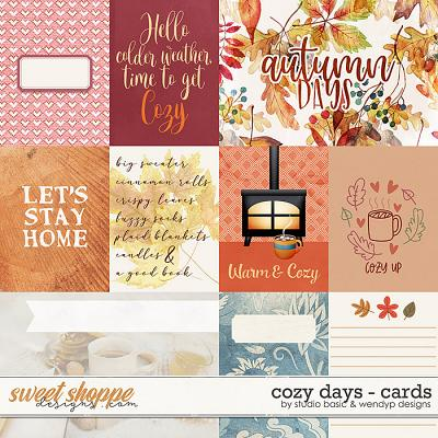 Cozy Days Cards by Studio Basic & WendyP Designs