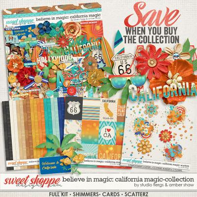 Believe in Magic:  California Magic Collection by Amber Shaw & Studio Flergs