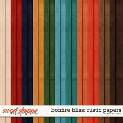 Bonfire Bliss: Rustic Papers by Amber Shaw