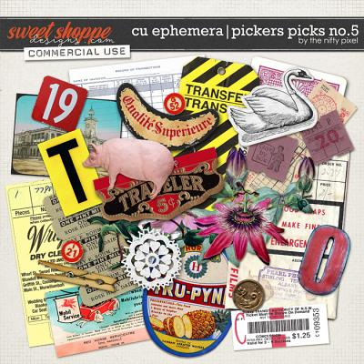 CU EPHEMERA | PICKERS PICKS No.5 by The Nifty Pixel