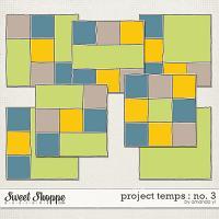 Project Temps : No. 3 by Amanda Yi
