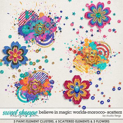 Believe in Magic: WORLDS- MOROCCO- SCATTERZ by Studio Flergs