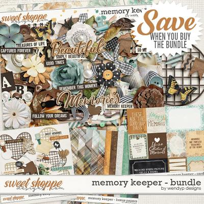 Memory Keeper - Bundle by WendyP Designs