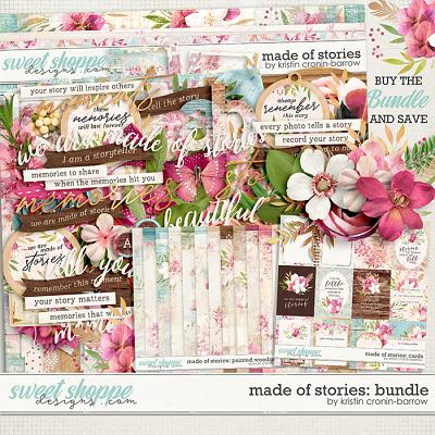 Made of Stories: Bundle by Kristin Cronin-Barrow