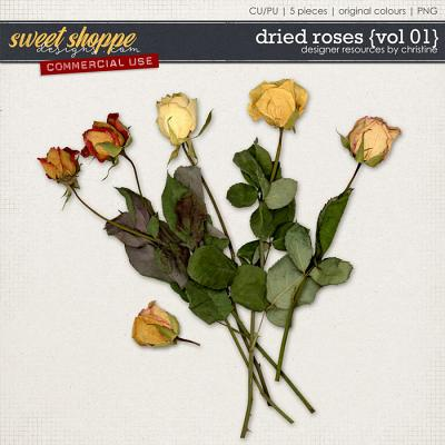 Dried Roses {Vol 01} by Christine Mortimer