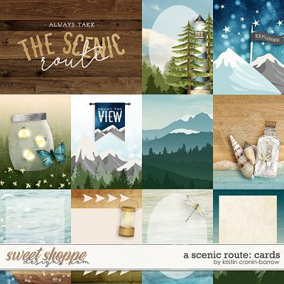 A Scenic Route: Cards by Kristin Cronin-Barrow