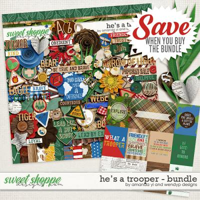 He's A Trooper: Bundle by Amanda Yi & WendyP Designs