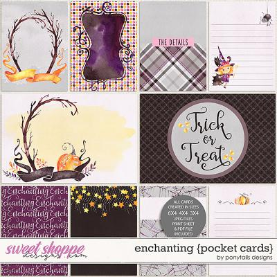 Enchanting Pocket Cards by Ponytails