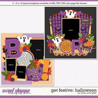 Cindy's Layered Templates - Get Festive: Halloween by Cindy Schneider