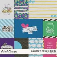 A Happy House Cards by Sugary Fancy