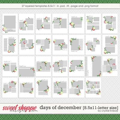 Days of December [8.5x11] by Crystal Livesay