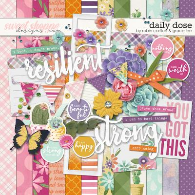 Daily Dose Mini Kit by Robin Carlton & Grace Lee