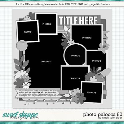 Cindy's Layered Templates - Photo Palooza 80 by Cindy Schneider