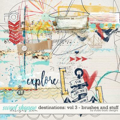 Destinations: Vol 3 - Brushes And Stuff by Studio Basic